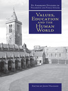 Values, Education and the Human World (eBook)