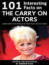 101 Interesting Facts on the Carry On Actors (eBook): Learn About the Popular Actors from the Film Series