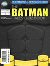The Batman Allies Quiz Book (eBook)