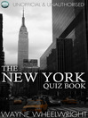 The New York Quiz Book (eBook): World's Great Cities