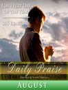 Daily Praise, August (MP3): A Prayer of Praise for Every Day of the Month