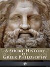 A Short History of Greek Philosophy (eBook)