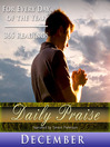 Daily Praise, December (MP3): A Prayer of Praise for Every Day of the Month