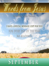 Words from Jesus, September (MP3): A Reading for Each Day in September