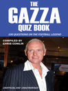 The Gazza Quiz Book (eBook)