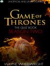 Game Of Thrones The Quiz Book - Season Two (eBook)