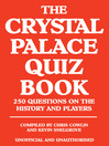 The Crystal Palace Quiz Book (eBook)