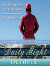 Daily Might, October (MP3): A Reading for Each Day in October