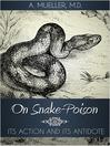 On Snake-Poison (eBook)
