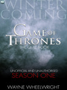 Game Of Thrones The Quiz Book -  Season One (eBook)