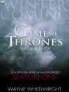 Game Of Thrones The Quiz Book -  Season One (eBook)