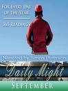 Daily Might, September (MP3): A Reading for Each Day in September