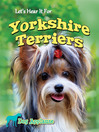 Let's Hear It for Yorkshire Terriers (eBook)