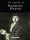 The Sayings of Samuel Pepys (eBook)
