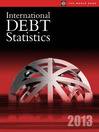 International Debt Statistics 2013 (eBook): External Debt of Developing Countries
