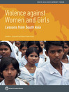 Violence against Women and Girls (eBook): Lessons from South Asia