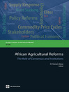 African Agricultural Reforms (eBook): The Role of Consensus and Institutions