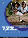 The Changing Wealth of Nations (eBook): Measuring Sustainable Development in the New Millennium