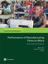 Performance of Manufacturing Firms in Africa (eBook): An Empirical Analysis
