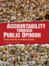 Accountability through Public Opinion (eBook): From Inertia to Public Action