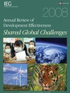 2008 Annual Review Development Effectiveness (eBook): Shared Global Challenges