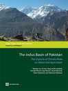 The Indus Basin of Pakistan (eBook): The Impacts of Climate Risks on Water and Agriculture