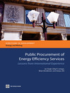 Public Procurement of Energy Efficiency Services (eBook): Lessons from International Experience