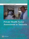 Private Health Sector Assessment in Tanzania (eBook)
