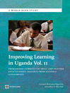 Improving Learning in Uganda, Volume 2 (eBook): Problematic Curriculum Areas and Teacher Effectiveness: Insights from National Assessments
