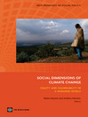 The Social Dimensions of Climate Change (eBook): Equity and Vulnerability in a Warming World