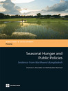 Seasonal Hunger and Public Policies (eBook): Evidence from Northwest Bangladesh