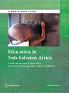 Education in Sub-Saharan Africa (eBook): Comparing Faith-Inspired, Private Secular, and Public Schools