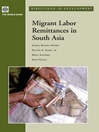 Migrant Labor Remittances in South Asia (eBook)