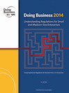 Doing Business 2014 (eBook): Understanding Regulations for Small and Medium-Size Enterprises