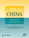 Urban China (eBook): Toward Efficient, Inclusive, and Sustainable Urbanization
