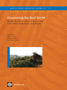 Discovering the Real World (eBook): Health Workers' Career Choices and Early Work Experience in Ethiopia