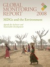 Global Monitoring Report 2008 (eBook): MDGs and the Environment: Agenda for Inclusive and Sustainable Development