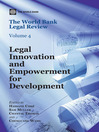 The World Bank Legal Review (eBook): Legal Innovation and Empowerment for Development