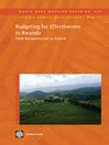 Budgeting for Effectiveness in Rwanda (eBook): From Reconstruction to Reform