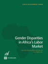 Gender Disparities in Africa's Labor Market (eBook)