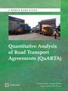 Quantitative Analysis of Road Transport Agreements - QuARTA (eBook)