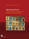 Opening Doors (eBook): Gender Equality and Development in the Middle East and North Africa