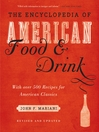 Encyclopedia of American Food and Drink (eBook)