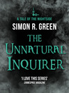 The Unnatural Inquirer (eBook): Nightside Series, Book 8