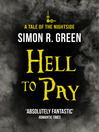 Hell to Pay (eBook): Nightside Series, Book 7