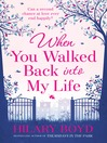 When You Walked Back into My Life (eBook)