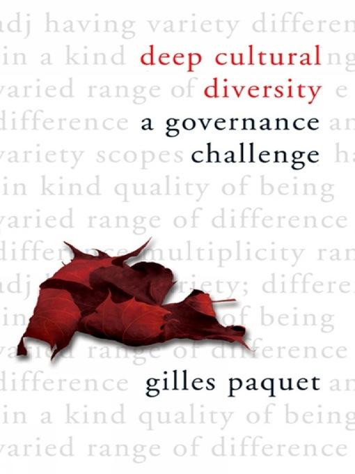Deep Cultural Diversity (eBook): A Governance Challenge