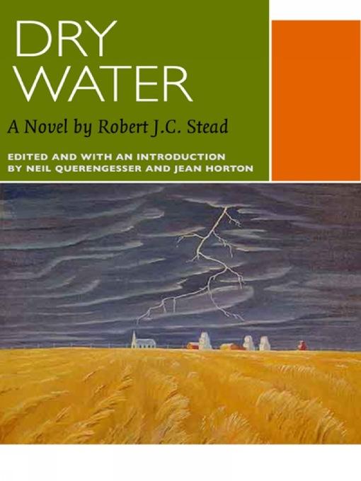 Dry Water (eBook)