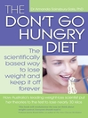 The Don't Go Hungry Diet (eBook)