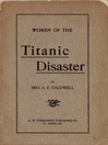 Women of the Titanic Disaster (eBook)